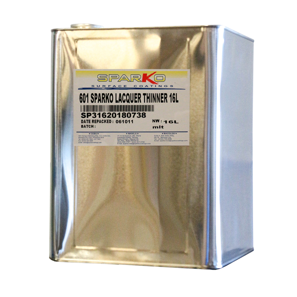 Sparko Surface Coatings 601 sparko lacquer thinner 16L