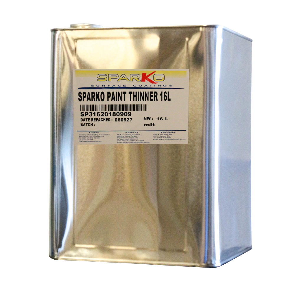 Sparko Surface Coatings sparko paint thinner 16L