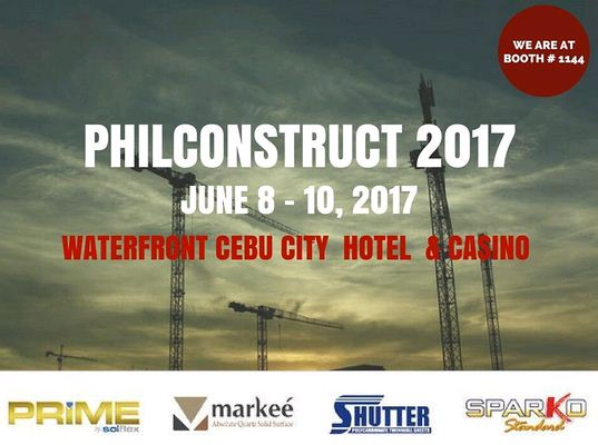 SEA OLYMPUS MARKETING, INC. takes part at PHILCONSTRUCT VISAYAS 2017