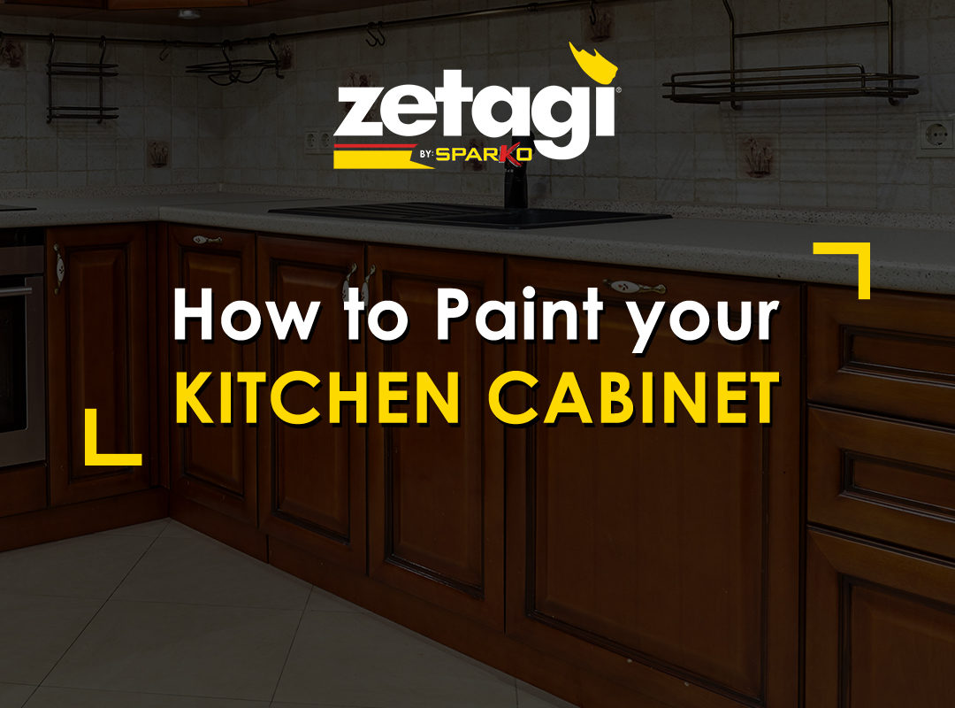zetagi: how to paint your kitchen cabinet