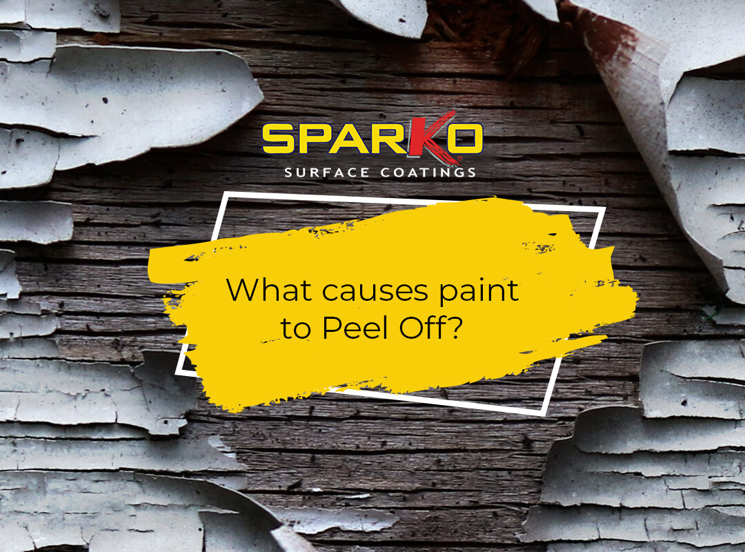 Causes of Paint peel off